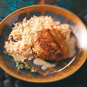 Gingered+Chicken+ThighsGingers Chicken, Gingeredchickenthigh Recipe, Gingeredchickenthigh Food, Wild Rice, Coconut Milk, Chicken Thighs, Sounds Yummy, Gingeredchickenthigh Chicken, Chicken Breast
