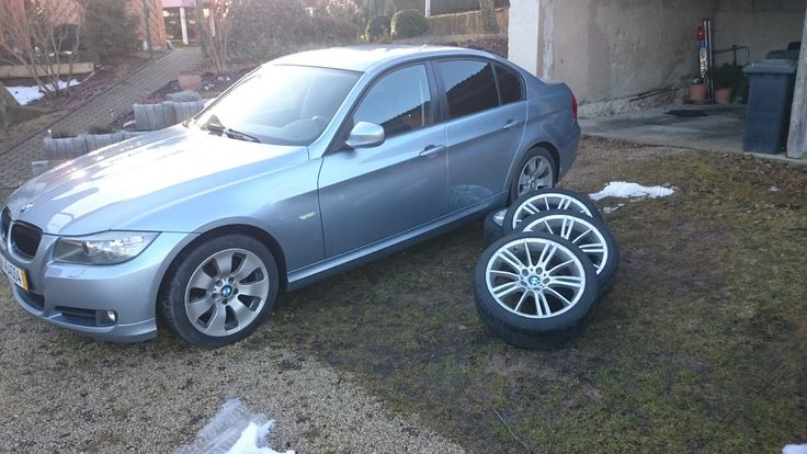 BMW 318d, 8fach (M-Felgen), AHK, Xenon, TÜV Neu