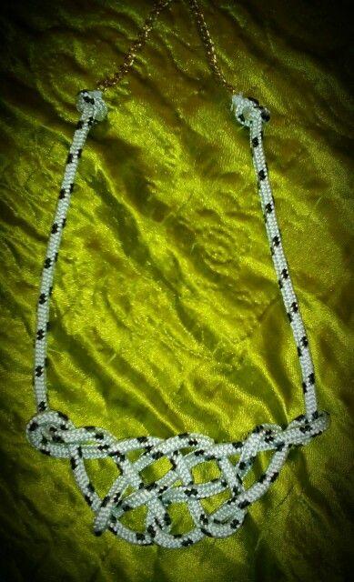Longhorn knot necklace:)