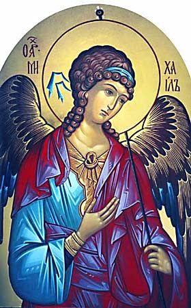 Saint Michael the Archangel / Михаил Архангел #Orthodox #Christian #icon