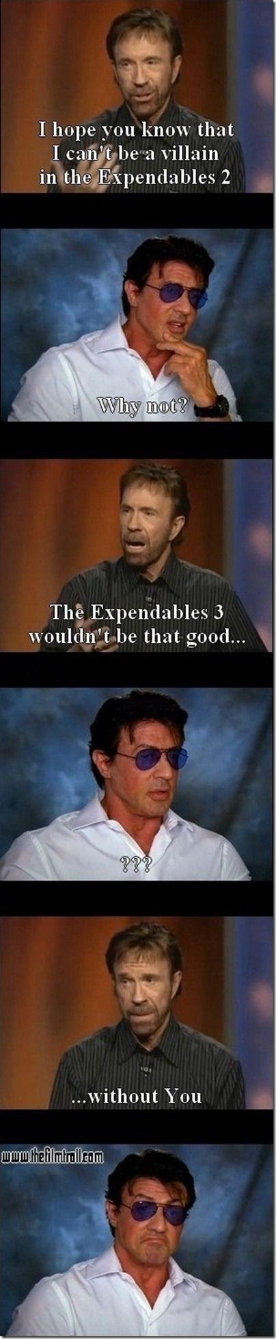 Chuck Norris warning