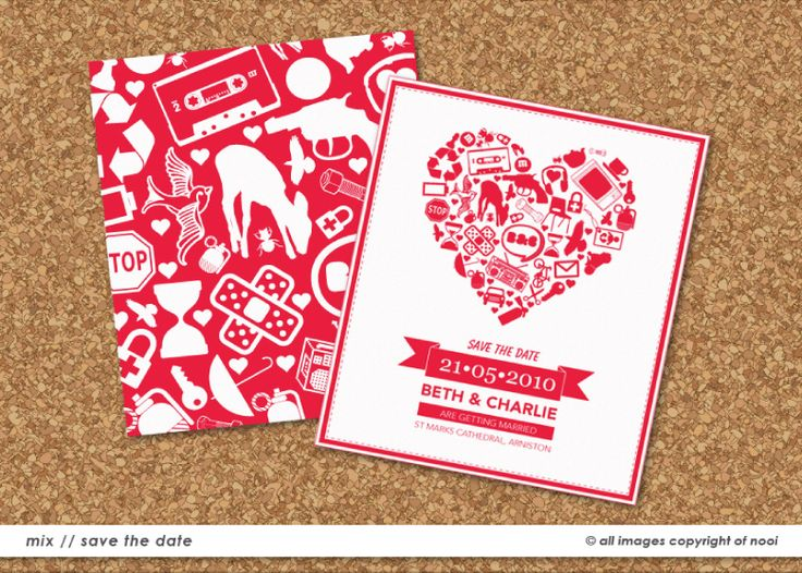 Beth & Charlie's Save The Date  www.nooievents.co.za