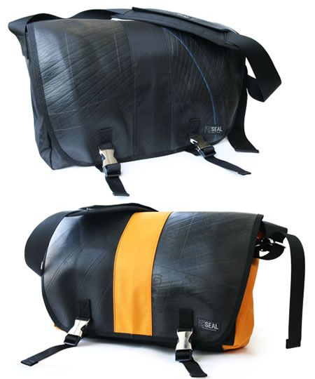 Beautiful recycled tyre bags