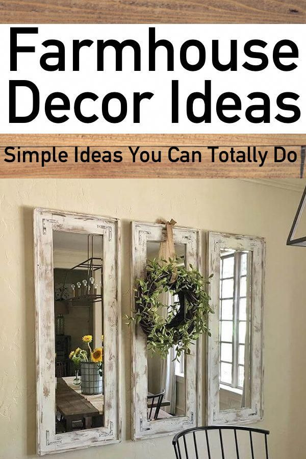 15 simple diy farmhouse home decor ideas you ll want to try the rh pinterest com