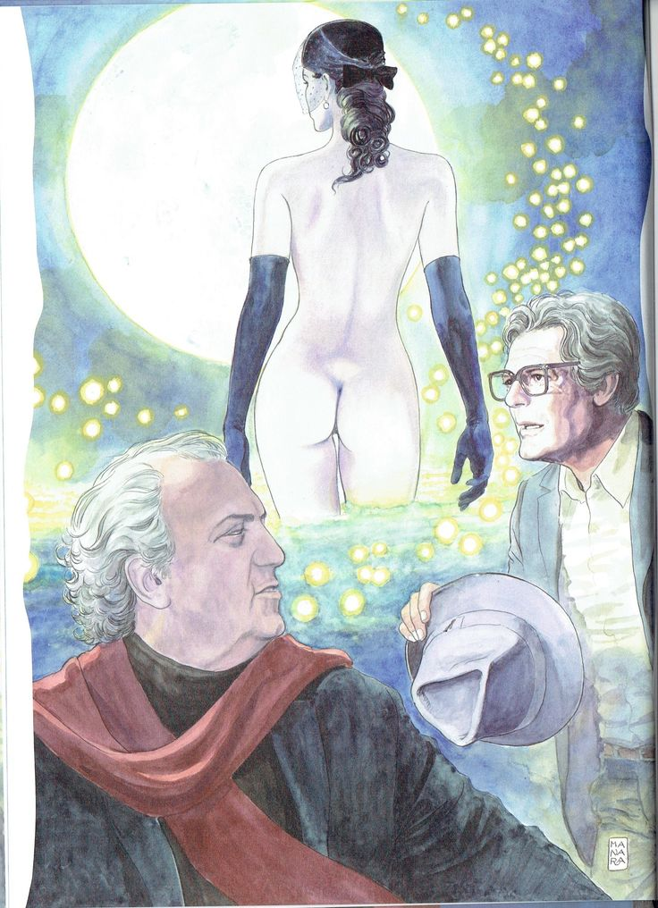 Milo Manara - Vol. 4, Manara e Fellini-4