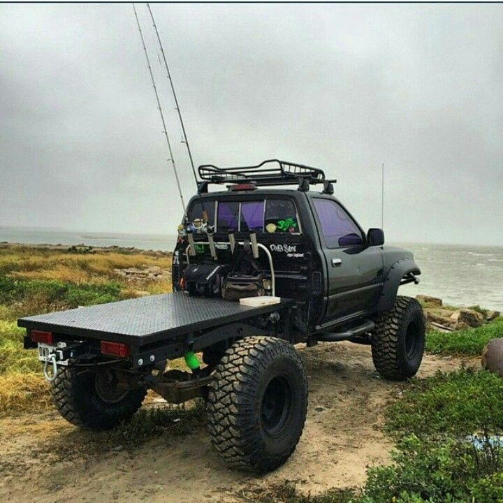 195 best truck images on pinterest for Truck fishing accessories