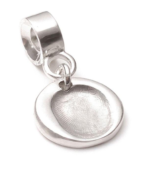 FingerPrint Charm on a charm carrier.