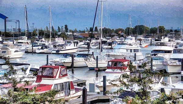 Marina - by Will Wagner      #chicago #marina #harbor #boat