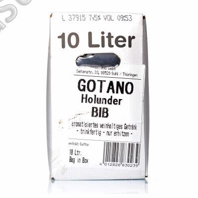 Thüringer Holunderblütenpunsch 10 l BIB Gotano Punsch Bag in Box 7,5 % vol.