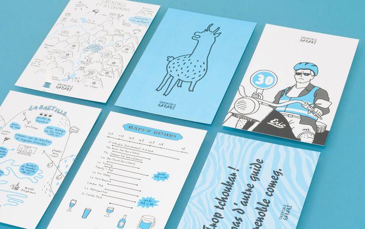 Grenoble Safari /// édition deux degrés /// city guide