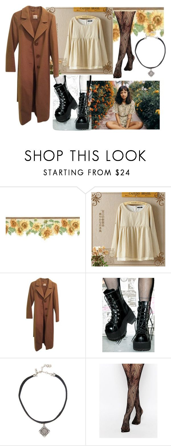 """Deftones - Change"" by rememberthattime1999 ❤ liked on Polyvore featuring Cinzia Rocca, Demonia, Vanessa Mooney, Leg Avenue and PolyPower"