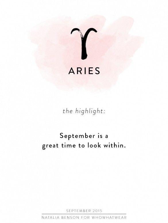 september 2015 horoscope aries