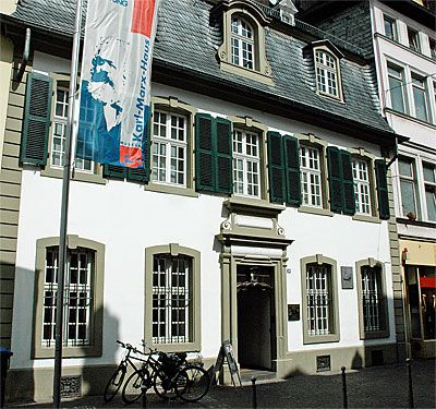 Karl Marx birth place, Trier, Germany