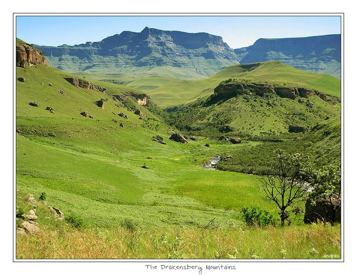 Drakensberg Mountains,  KwaZulu-Natal