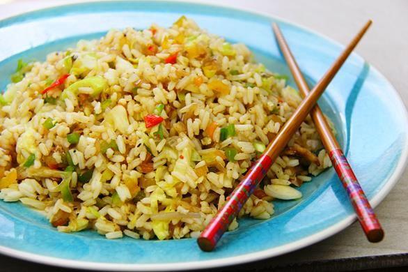 Caribbean Saltfish Fried Rice Recipe.