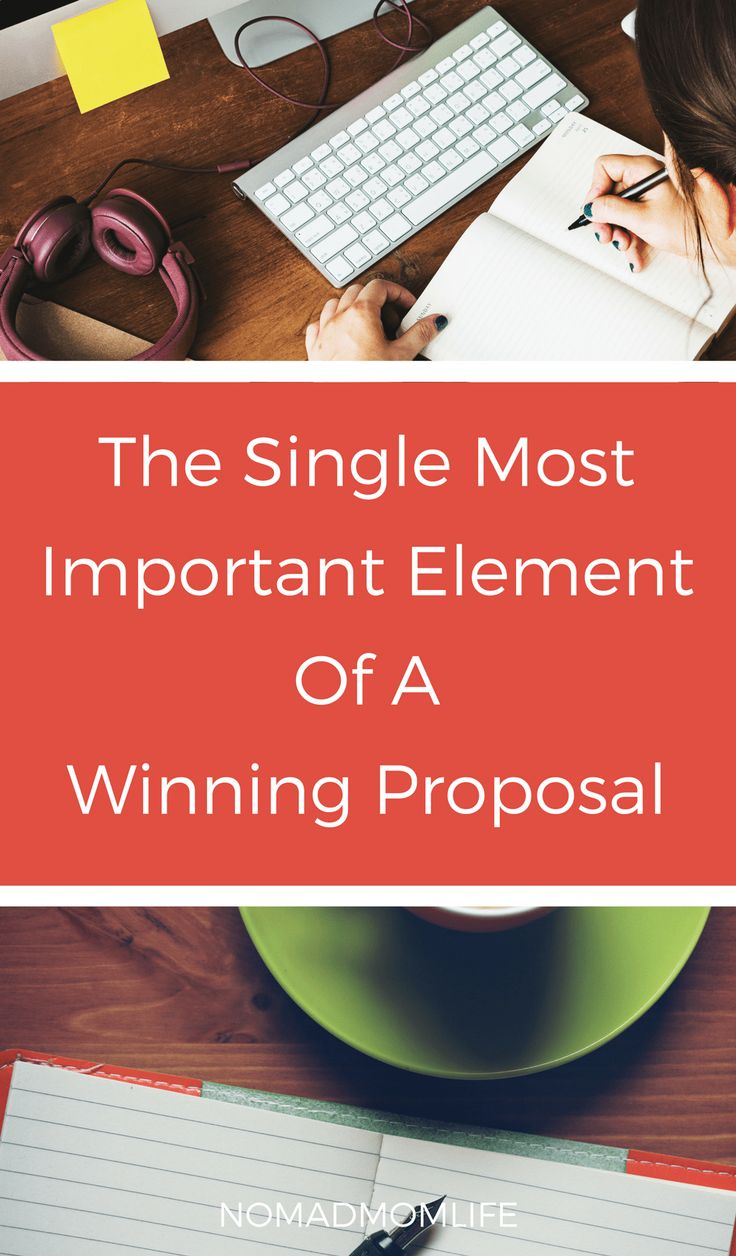 The Single Most Important Piece Of Information You To Write A Winning Proposal