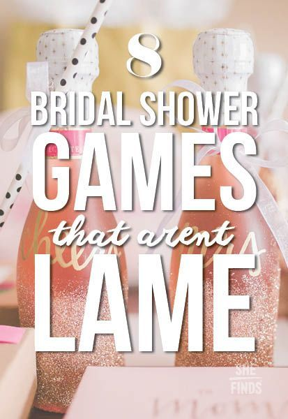 8 bridal shower games that aren 39 t lame event ideas for Bridal shower games that aren t cheesy