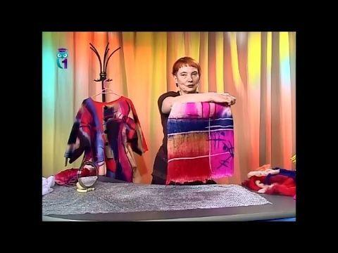Мокрое валяние. Как свалять живописное объемное полотно из шерсти (войлока). Часть 1. Мастер класс - YouTube