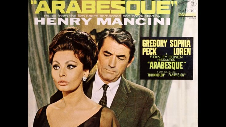 arabesque (1966) FULL ALBUM OST henry mancini sophia loren