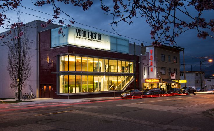 Douglas Williams Photography - York Theatre, Commercial Drive, Vancouver, BC. Recently restored.