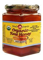 Organic Raw Honey 18 oz