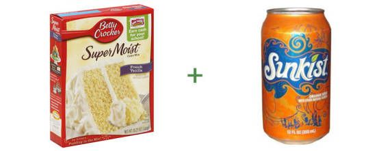 cake4 | 7 Treats You Can Make With Cake Mix and Soda