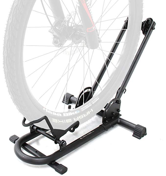 Amazon Com Bikehand Bike Floor Parking Rack Storage Stand