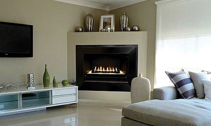 latest looks in fireplaces - Google Search