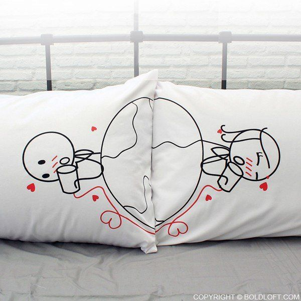 17 Best ideas about Long Distance Relationship Pillow on Pinterest Long distance pillow ...