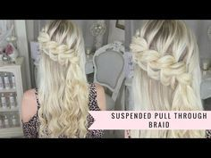 The Triple Braid Flower By SweetHearts Hair Design - YouTube