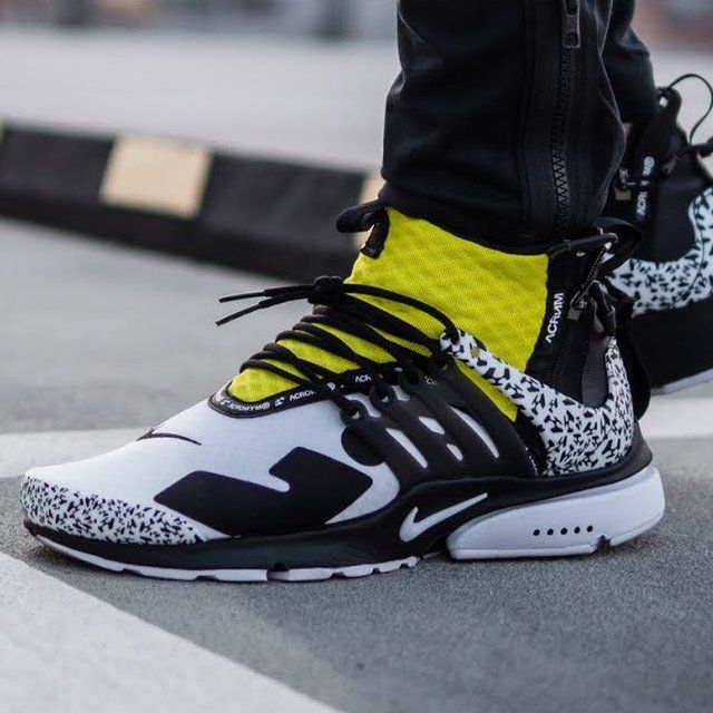 discount shop release date sneakers for cheap Nike Air Presto Mid Acronym Dynamic Yellow | Nike air shoes, Nike ...