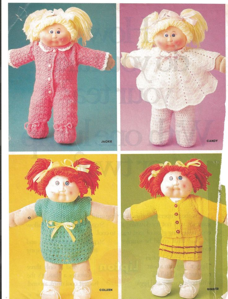 48 best Cabbage Patch images on Pinterest | Doll clothes patterns ...