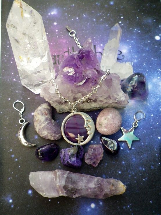 Something you might find in her tree   Witchy   Crystals
