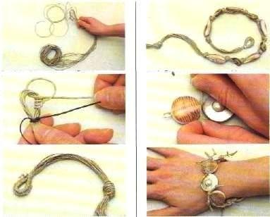 Istruzioni bijoux madreperla e conchiglia