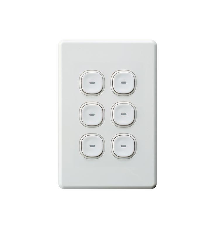 Impress Push-Button - Clipsal by Schneider Electric