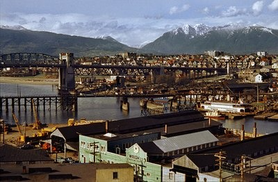 west end from granville - Fred herzog 1957