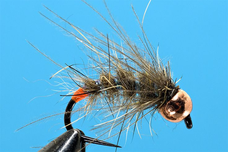 Great early season nymph tying-a-GRHE-Emerger-fly-by-Lucian-Vasie