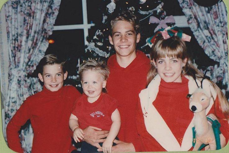 Caleb Walker, Cody Walker, Paul Walker & Ashlie Walker