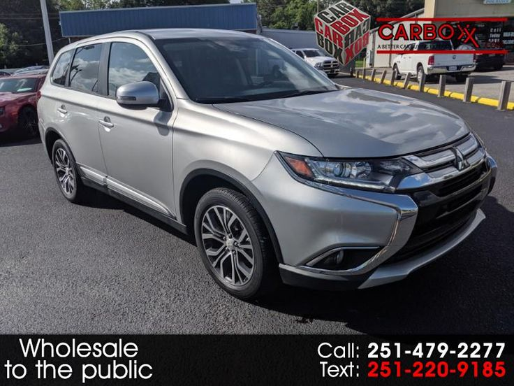 Used 2018 Mitsubishi Outlander SEL 2WD for Sale in Mobile