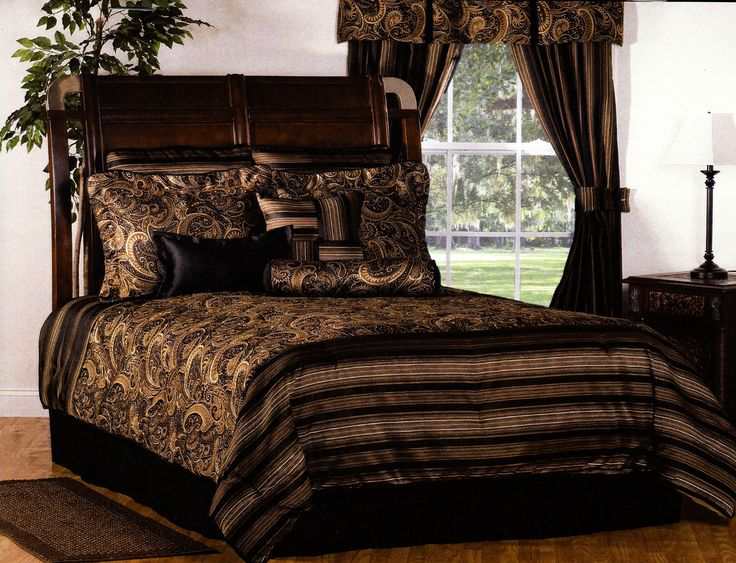 winslow by victor mill is a masculine bedding collection that encompasses stripes paisley and solids winslow features dark and rich colors combined with