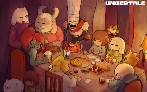 caribun:  that took some time. undertale is an amazing game and I recommend it to anyone who enjoys videogames full res: http://tinyurl.com/psflncd   rebloging cus' the ocassion