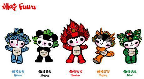 Beijing `08 Mascots
