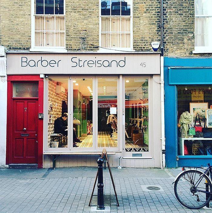 Barber Hashtags : ... Barber Shop Names on Pinterest Barber shop, Barbers and Barber shop