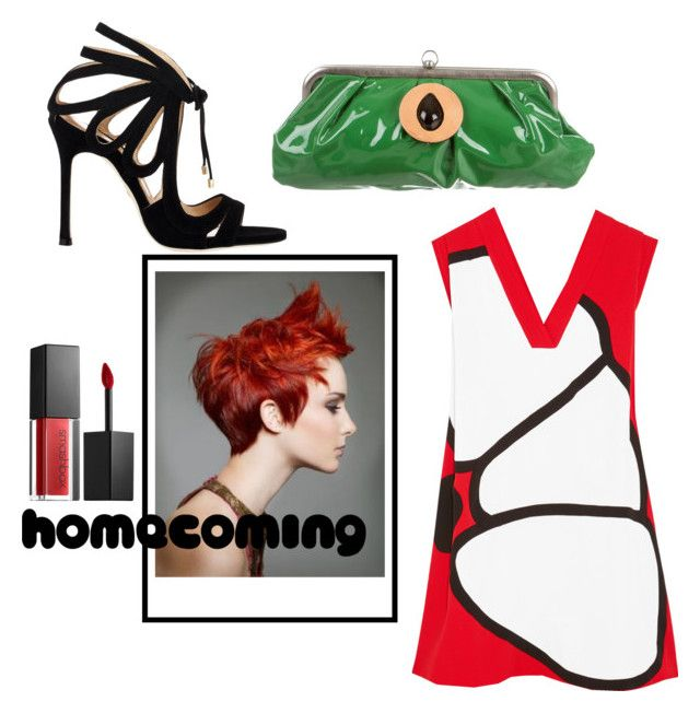 """A sort of homecoming"" by siska-macstevens ❤ liked on Polyvore featuring Chelsea Paris, Marni, Kenzo and Smashbox"