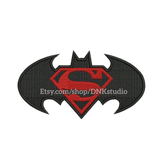 Batman Superman Logo Machine Embroidery Design Applique This design manually made by hand, from start to finish. It is a digitized embroidery design for a buyer who has an embroidery sewing machine. https://www.etsy.com/listing/476689842/batman-superman-logo-machine-embroidery #stitch #digitized #Sewing #Needlecraft #stitches #Embroidery #Applique #EmbroideryDesign #pattern #batman #superman #superhero #bat #movies #dc