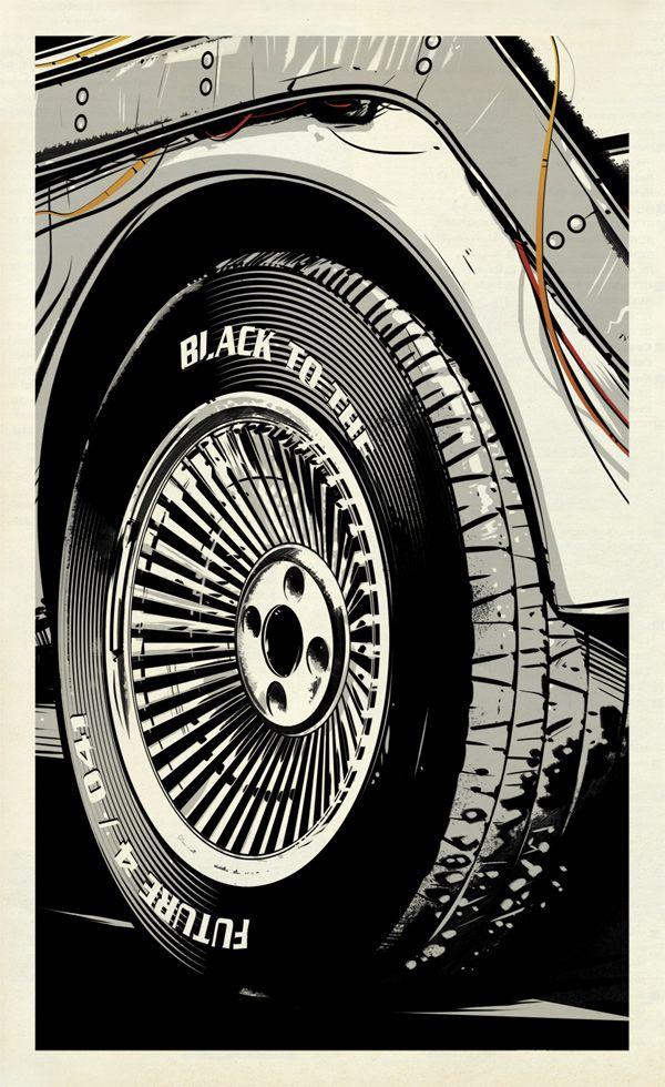 Black to the Future / *suffix *grafik-design+animation