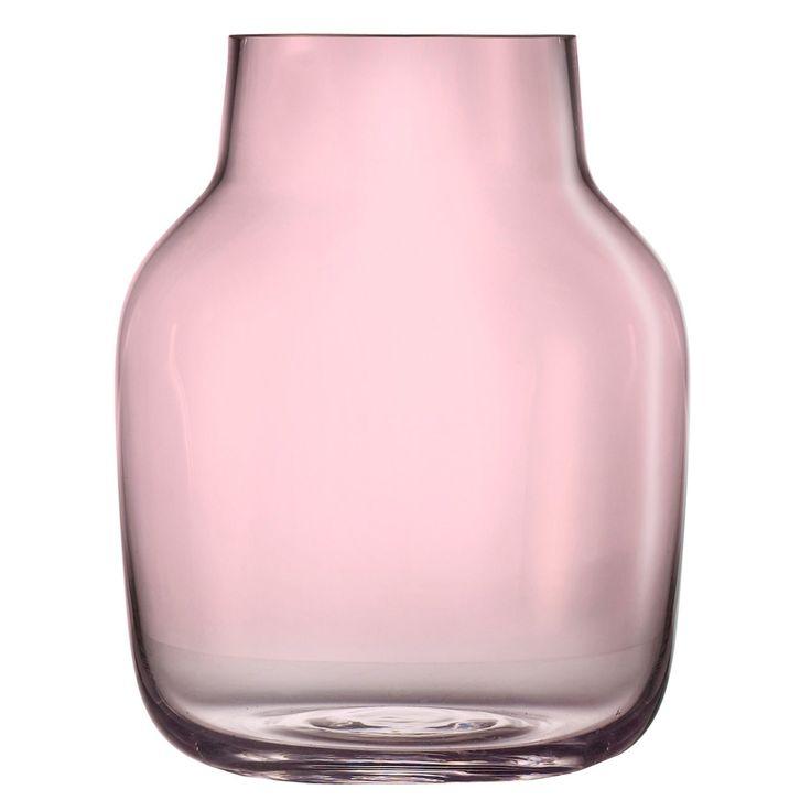 Silent vase L, rosa i gruppen Inredningsdetaljer / Dekorasjon hos ROOM21.no (128936)