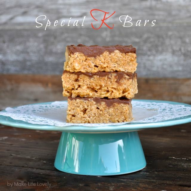I'm kind of in love with Special K bars… I'm not sure if it's the chocolate, the butterscotch, the peanut butter, or the cereal that does it for me, but this is definitely a case where the whole is better than the sum of the parts! I'm not even going to to tell you how … … Continue reading →