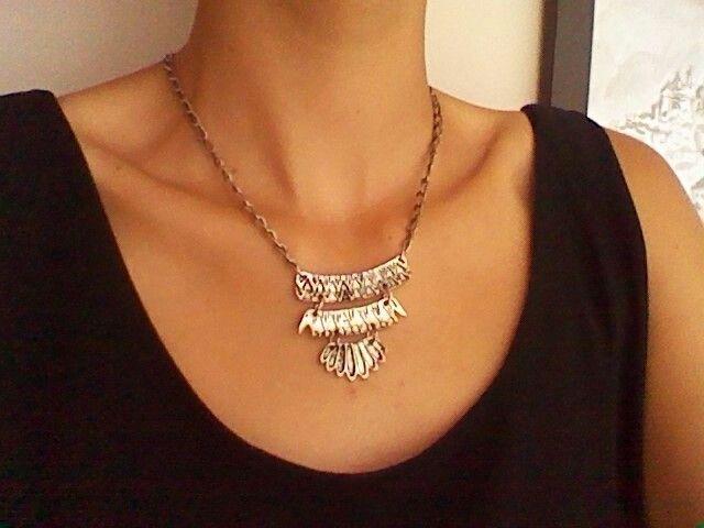 Diy necklace,collar