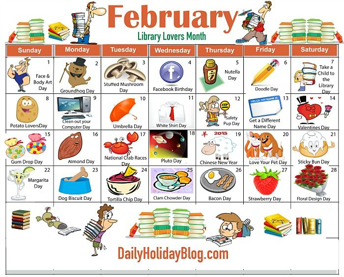 Image result for list of weirdest holidays february